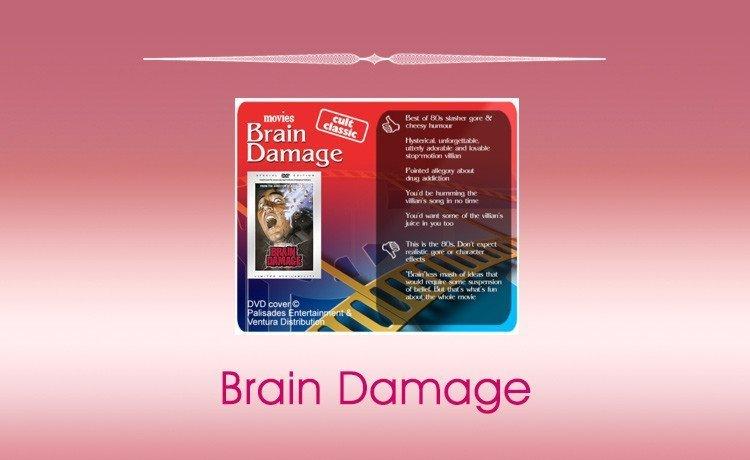 Classic Horror Movie Review: Brain Damage