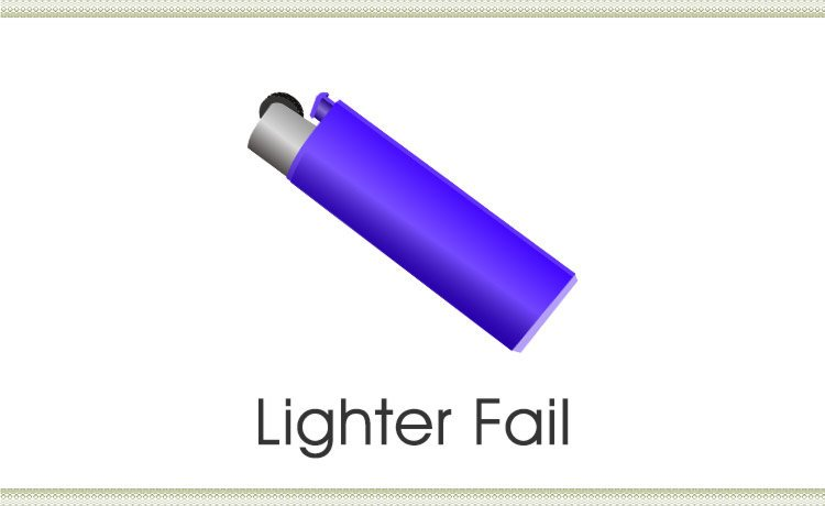 A simple request to borrow my lighter set off dark thoughts in my head.