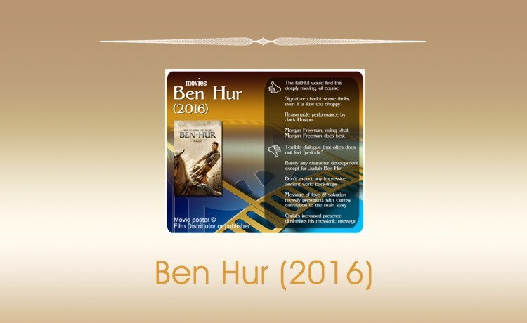 Movie Review: Ben Hur (2016)
