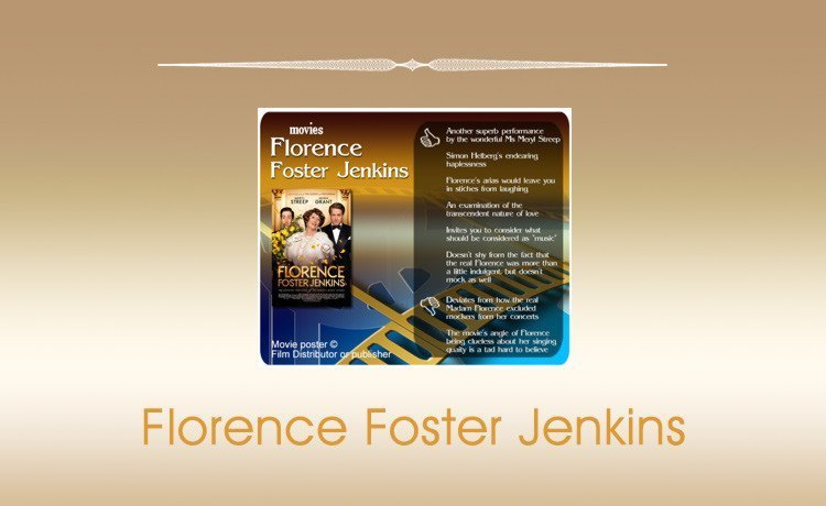 Movie Review: Florence Foster Jenkins