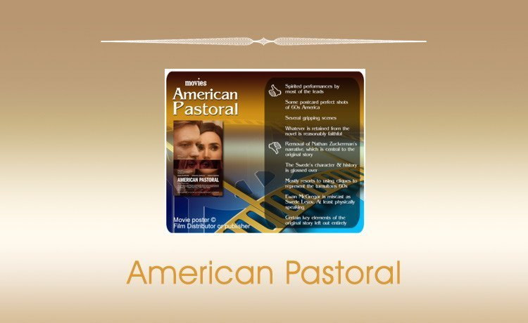 Movie Review: American Pastoral