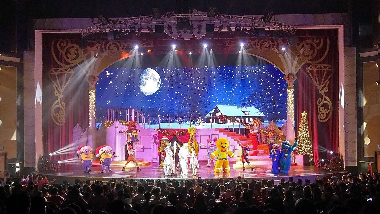 Bah Humbug! A Christmas Spectacular finale.