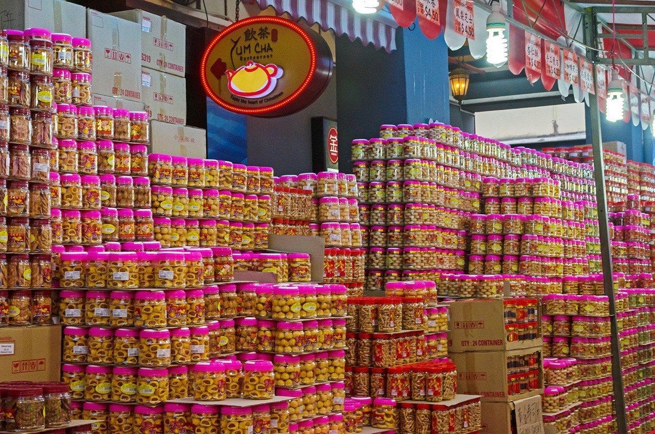 Singapore Chinese New Year Snacks.