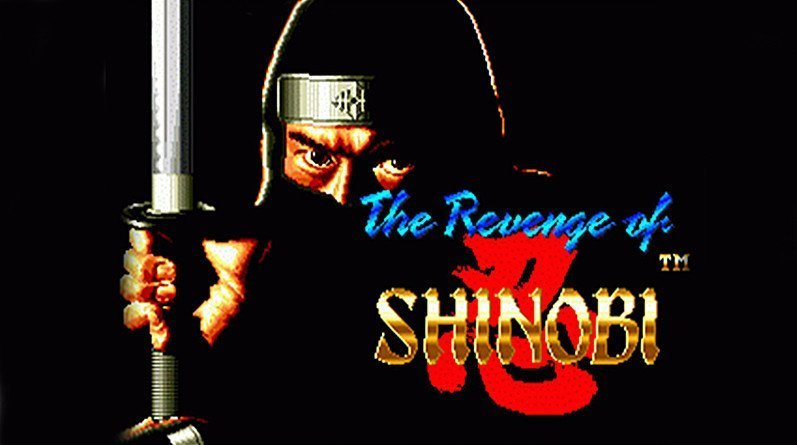 The Revenge of Shinobi Opening Screen