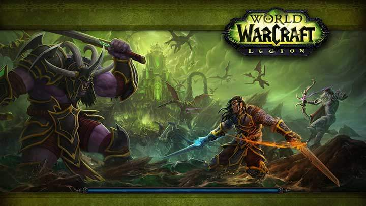 WoW Legion Loading Screen