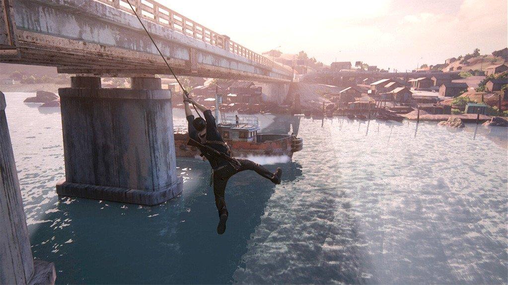 Nathan Drake Uncharted 4.