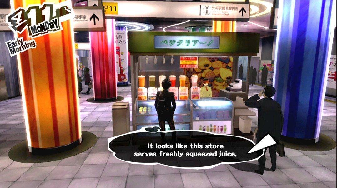 Persona 5 Juice Store