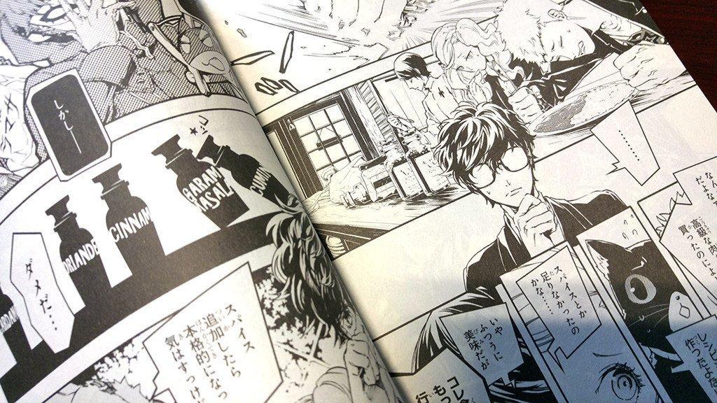 Persona 5 Manga