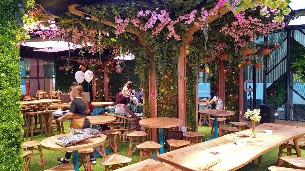 Picnic Urban Food Park Garden Seats