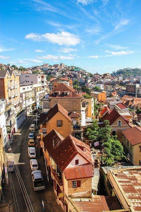 Antananarivo Street.