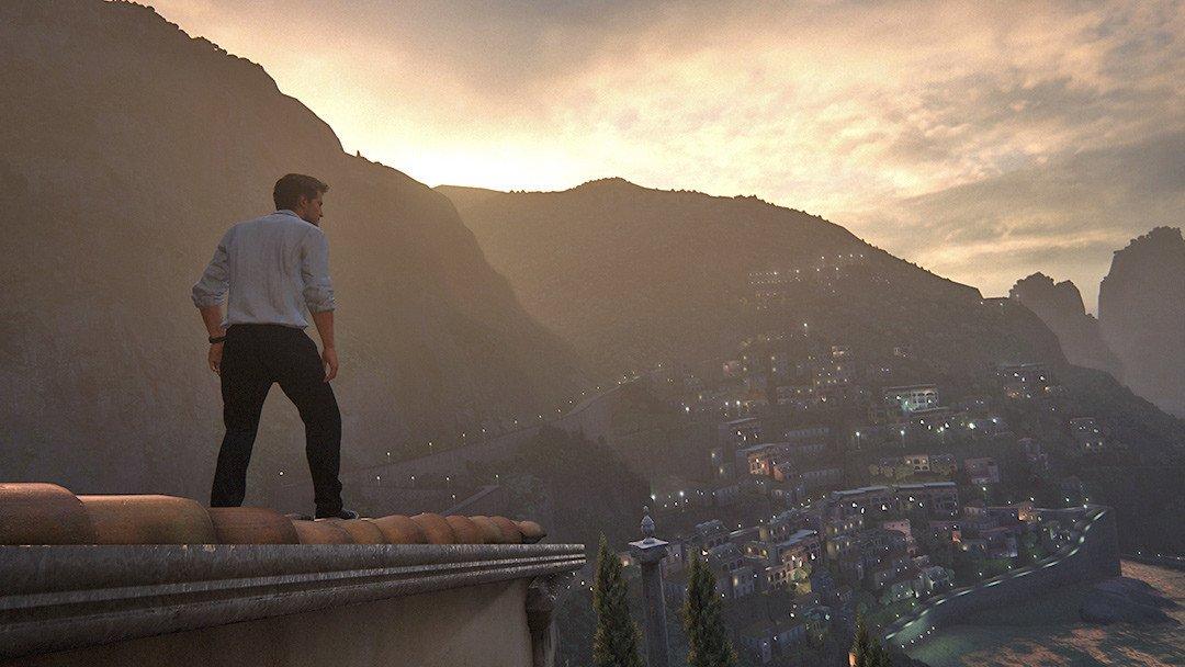 Uncharted 4 Amalfi Coast. A Thief's View.