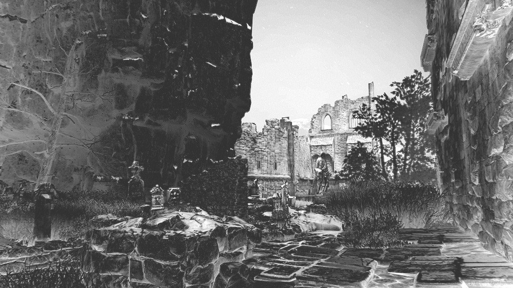 Uncharted 4 Black and White Photo Mode
