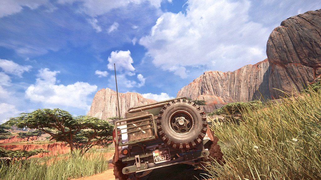 Uncharted 4 Madagascar Chapter.