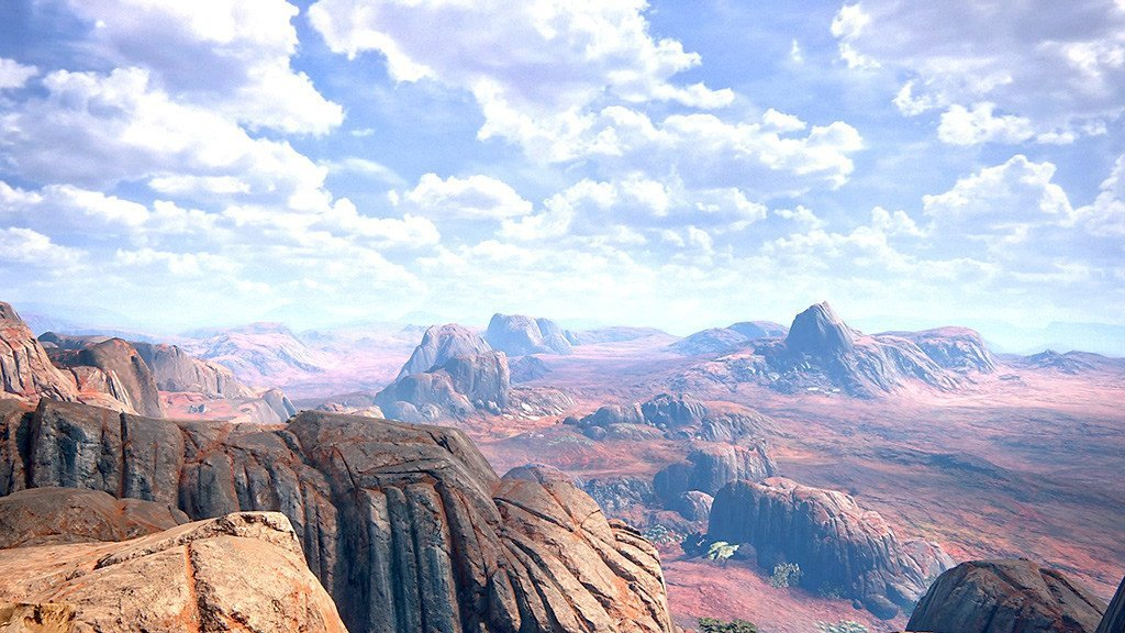 Spectacular Madagascar Panorama in Uncharted 4 - A Thief's End.