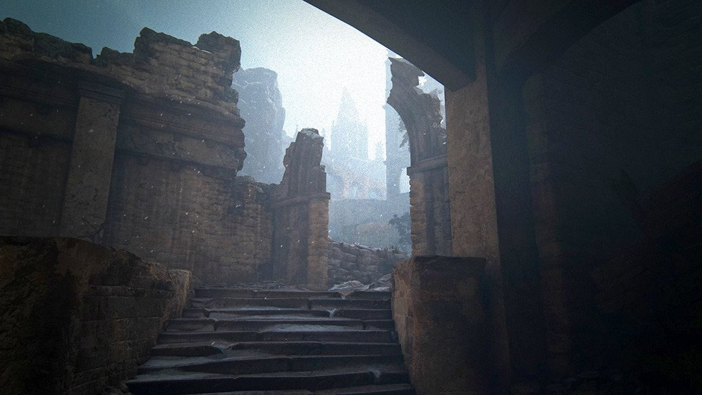Uncharted 4 Scotland Cathedral