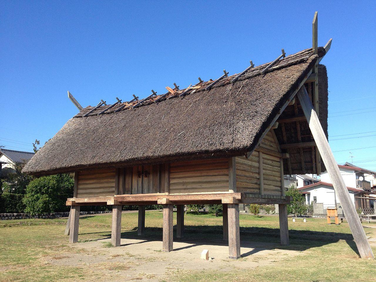Shizuoka City Toro Museum Yayoi Period Worship Hall.
