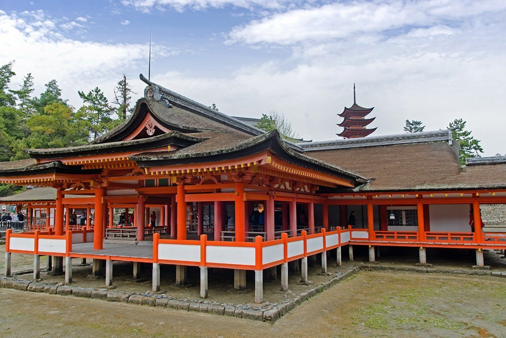 Miyajima Itsukushima Shrine.