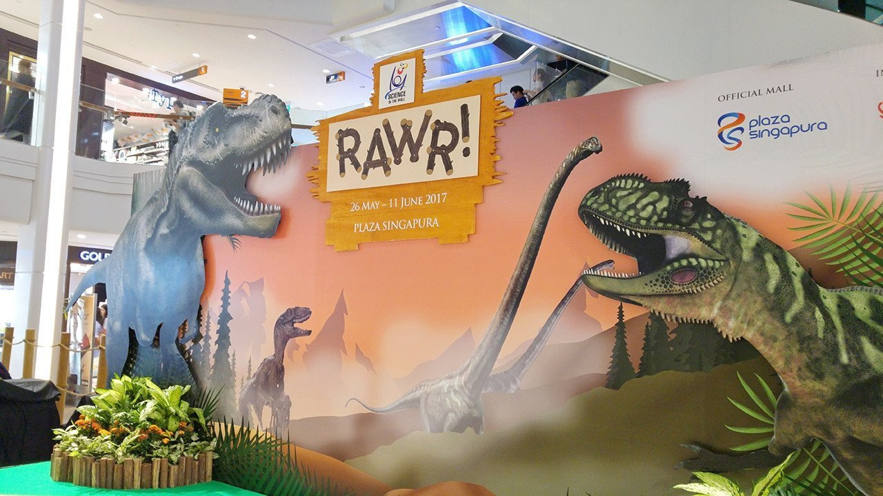 Rawr! Dinosaurs Unearthed Stage.