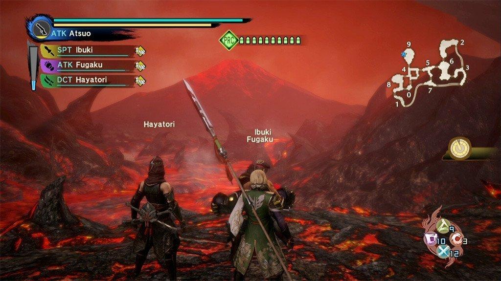 Toukiden Kiwami Magma River Screenshot.