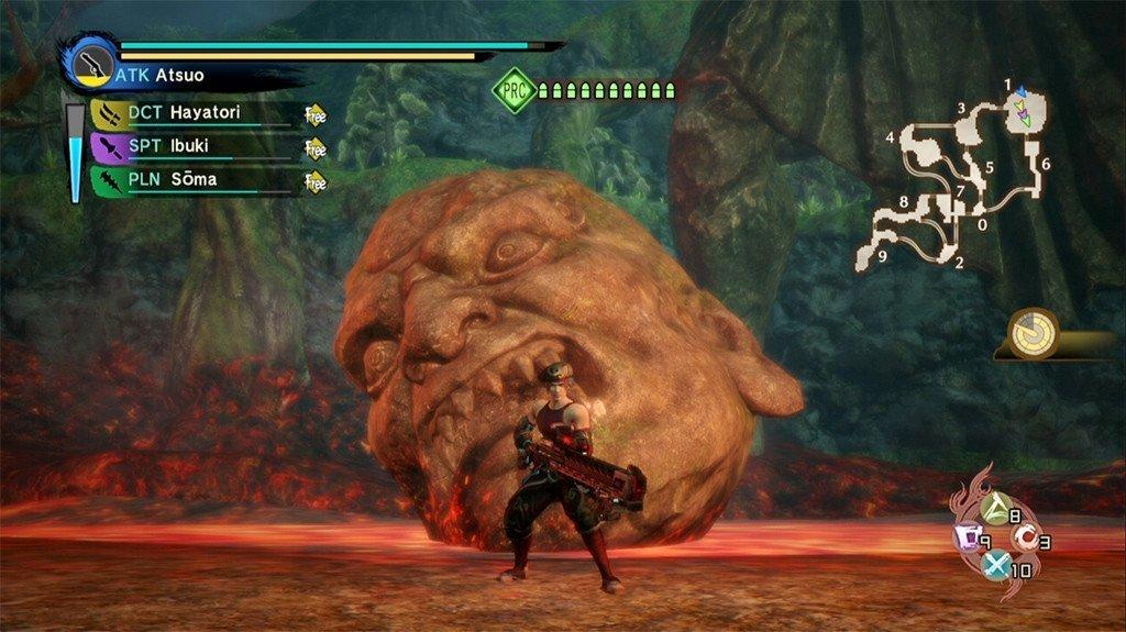 Toukiden Kiwami PS4 Gameplay.