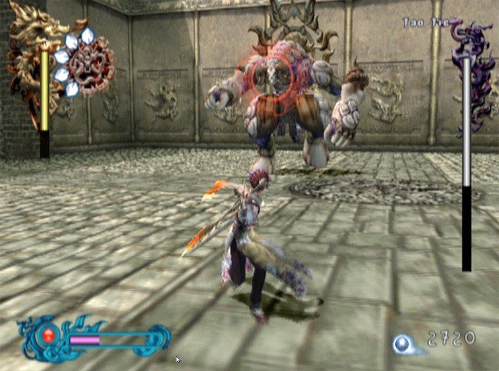 Bujingai: The Forsaken City Stage 2 Boss Fight