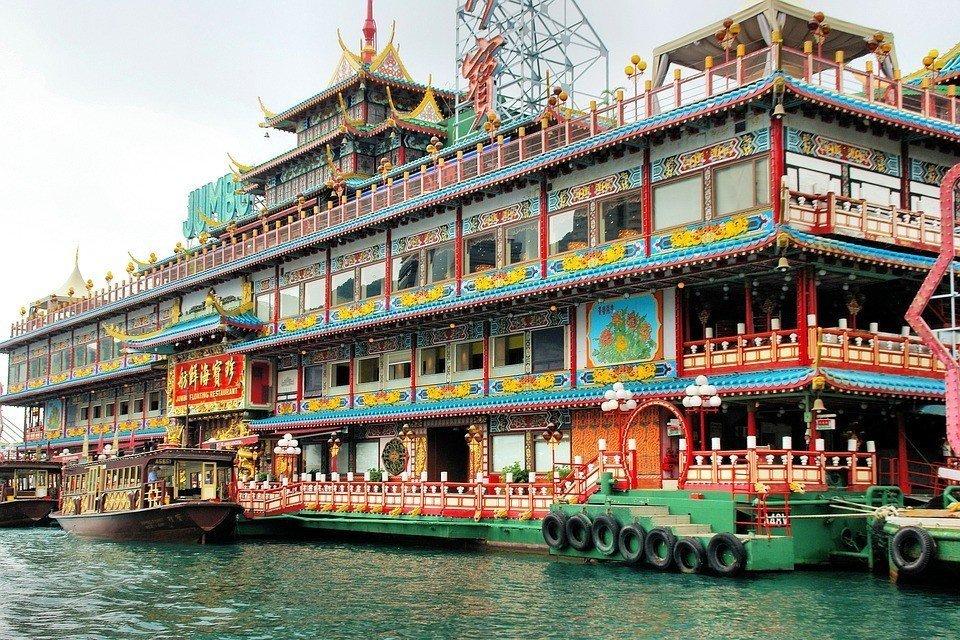 Hong Kong's famous Jumbo Floating Restaurant.