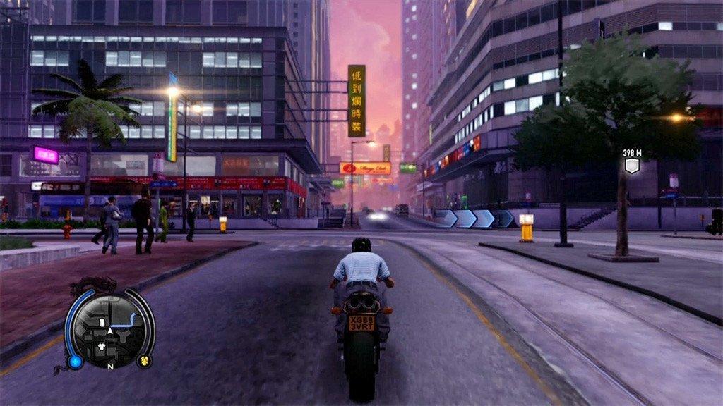 Sleeping Dogs Evening Driving Screenshot