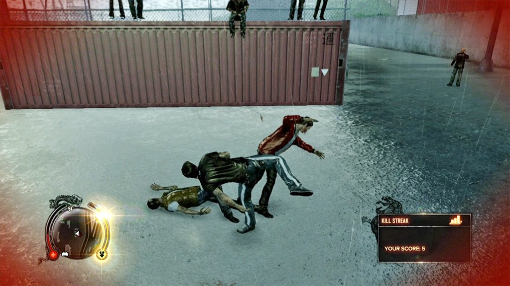 Sleeping Dogs Combat Moves