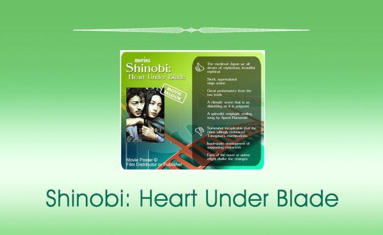 Shinobi: Heart Under Blade movie review