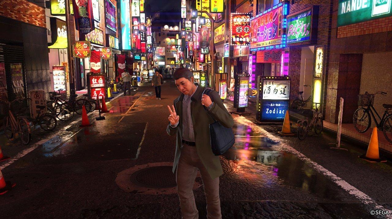 Ryu ga Gotoku 6 Photo Mode.
