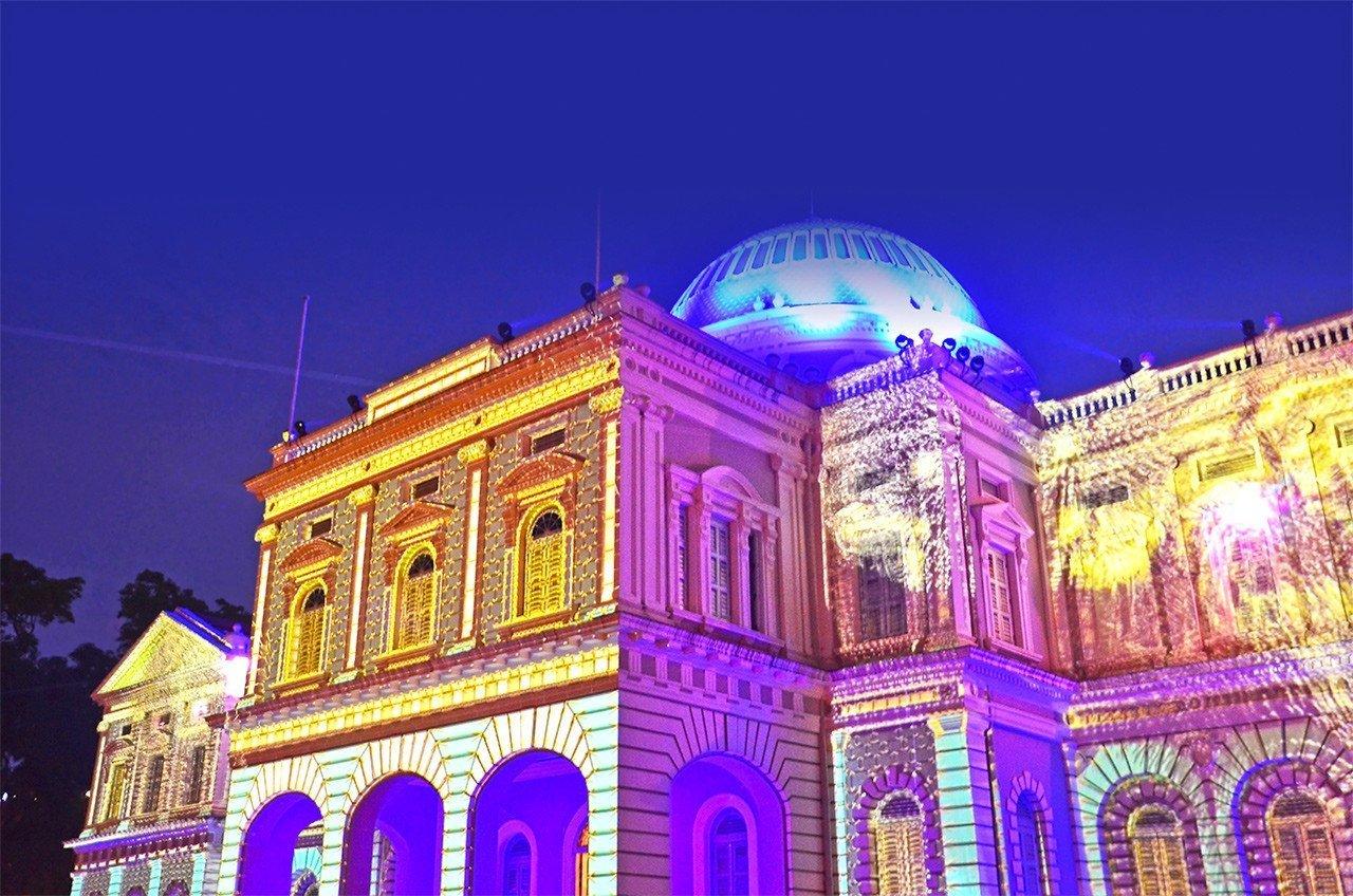 Singapore Night Festival 2017 Light Projection.