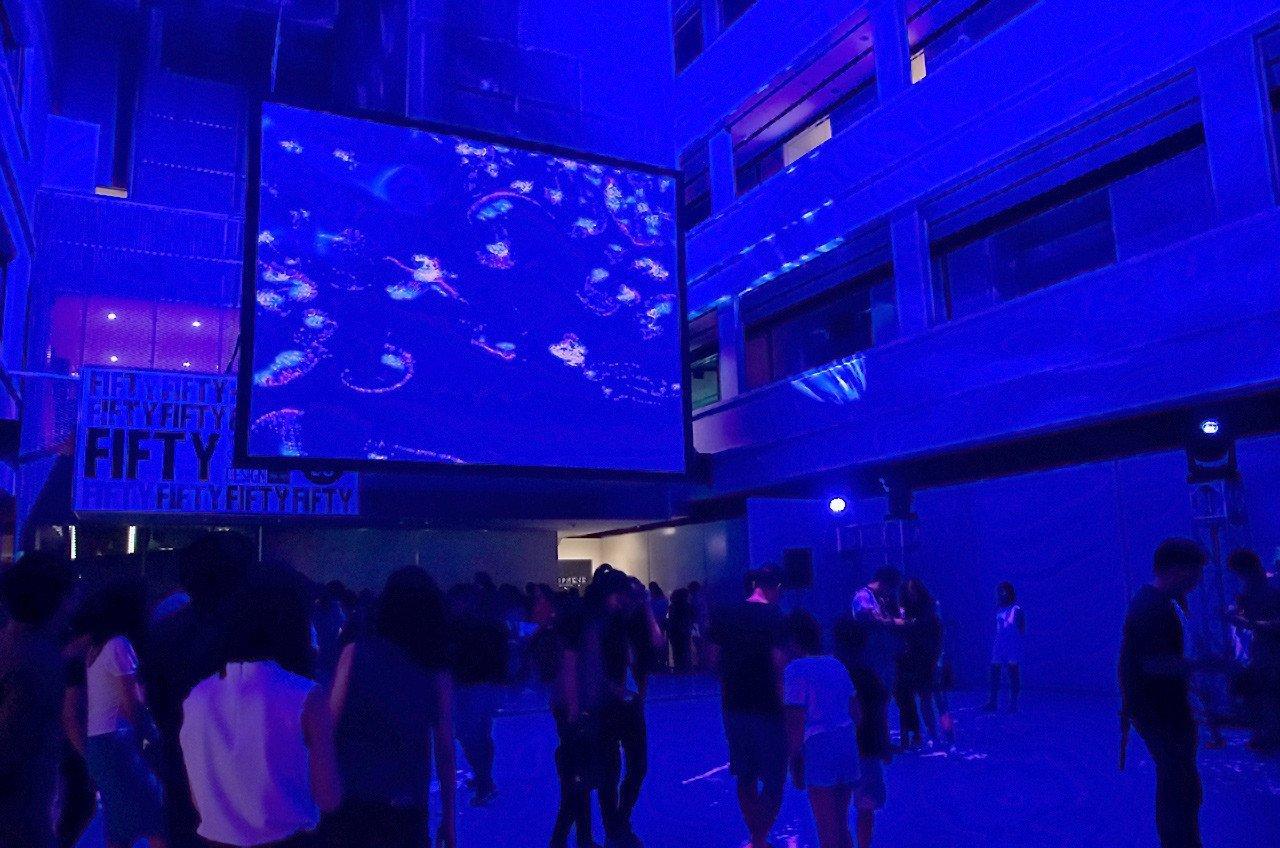 Flock by KMA (UK) at National Design Centre, Singapore.