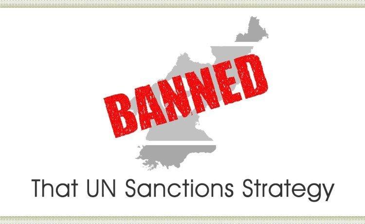 That UN Sanctions Strategy