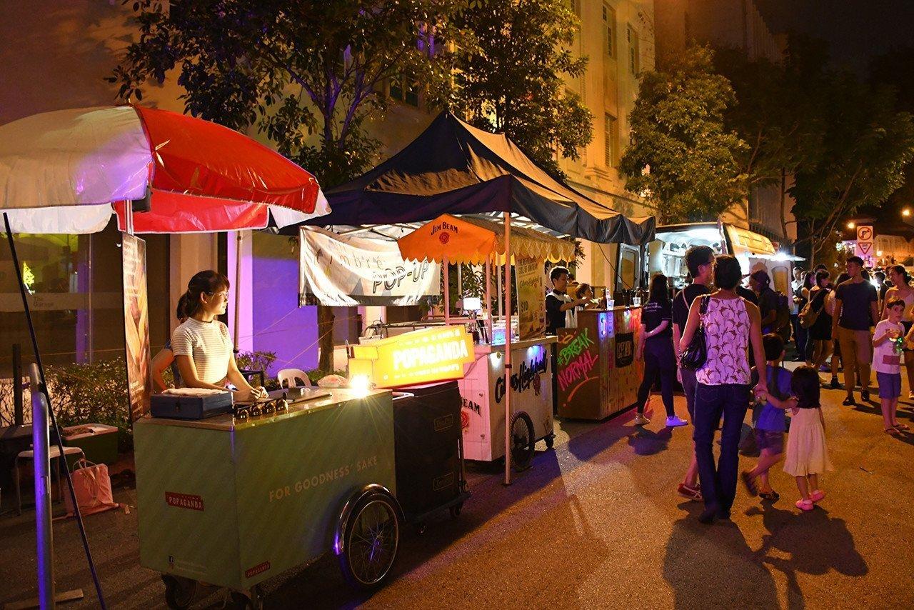Singapore Night Festival 2017 Food Street.