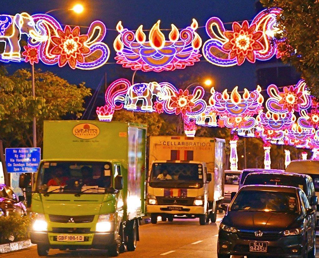 Race Course Road Deepavali Festive Light-Up 2017