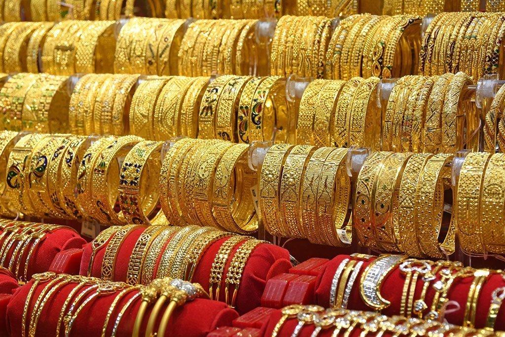 Indian Gold Bangles.