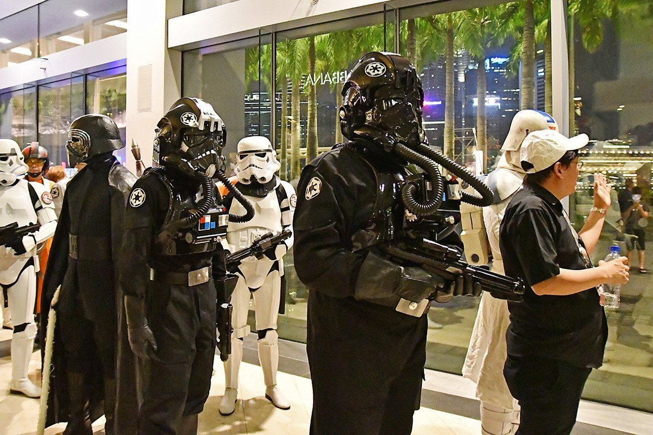 Star Wars: The Last Jedi Cosplayers