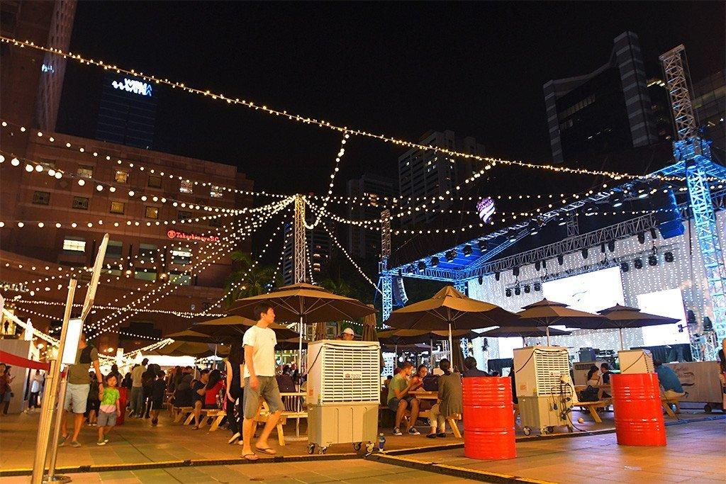 Ngee Ann City Christmas Event.