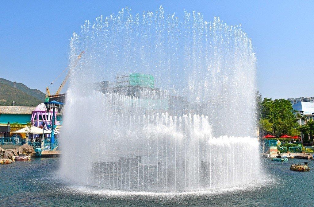 Ocean Park Aqua City Lagoon.