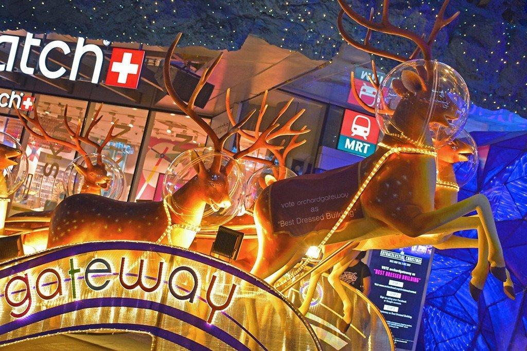 Orchard Gateway Space Reindeers