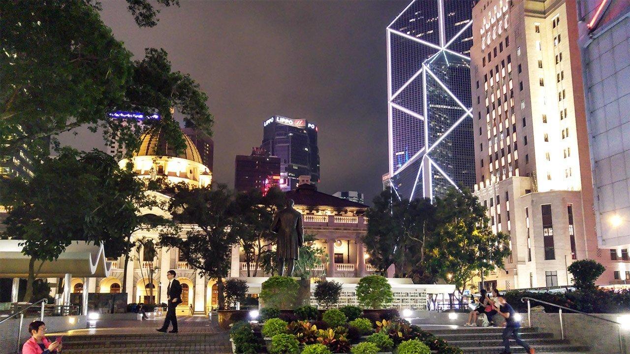 Statue Square, Central, Hong Kong