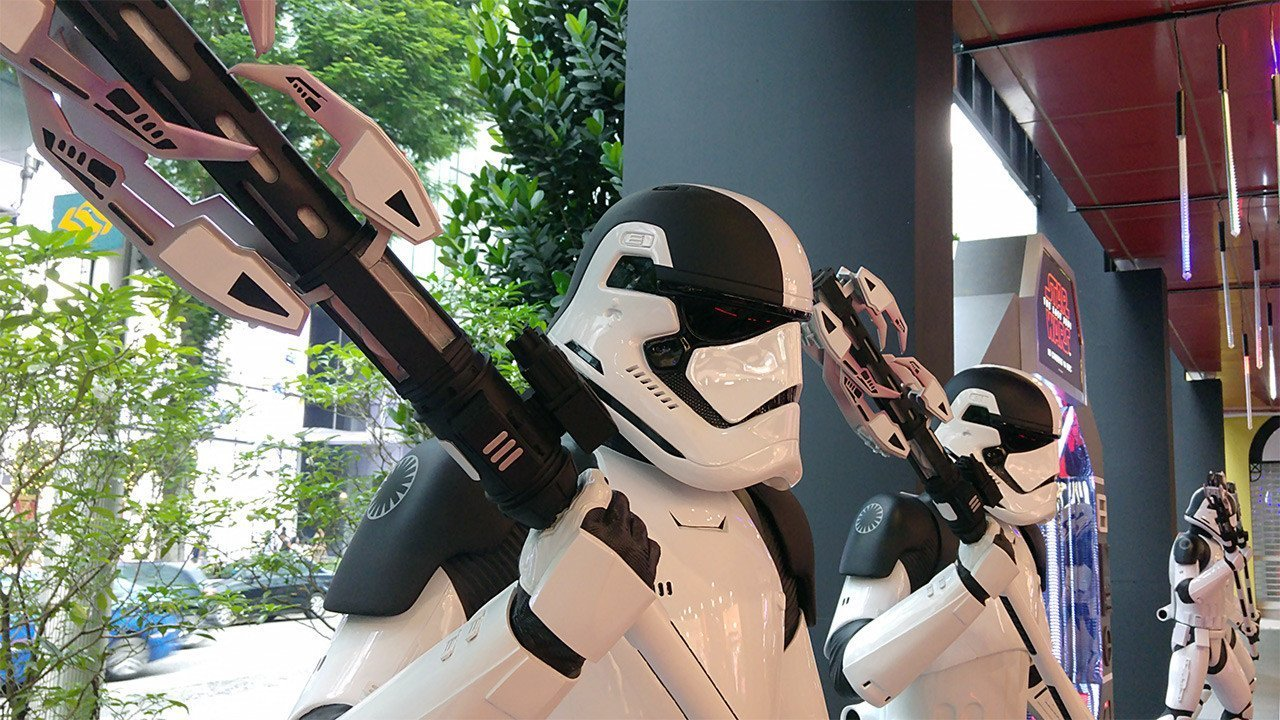 Stormtroopers at The Centrepoint, Singapore