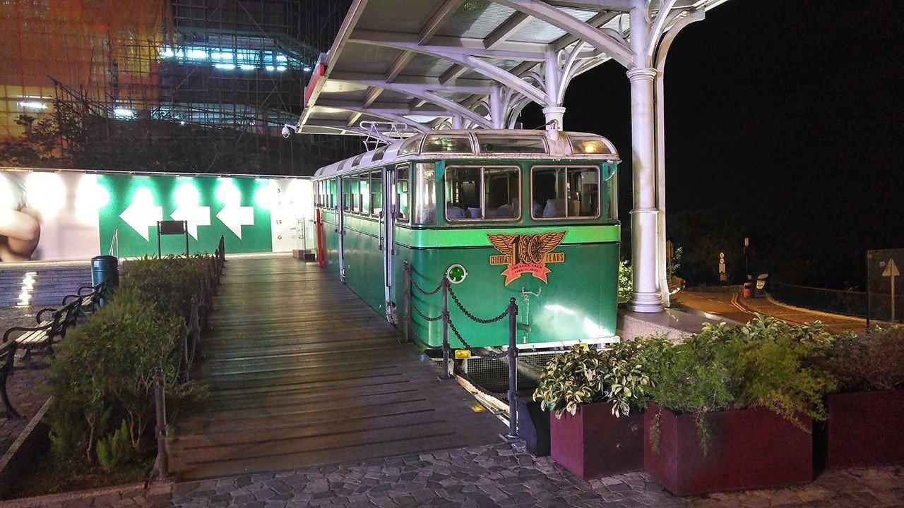 1956 Peak Tram, Hong Kong