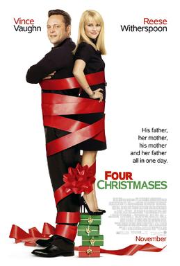 7 Day Netflix Christmas Movie Binge - Four Christmases