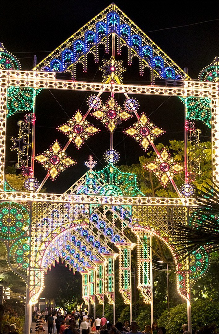 Gardens by the Bay Christmas Luminarie 2017
