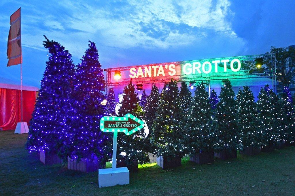 Santa's Grotto Gardens by the Bay.