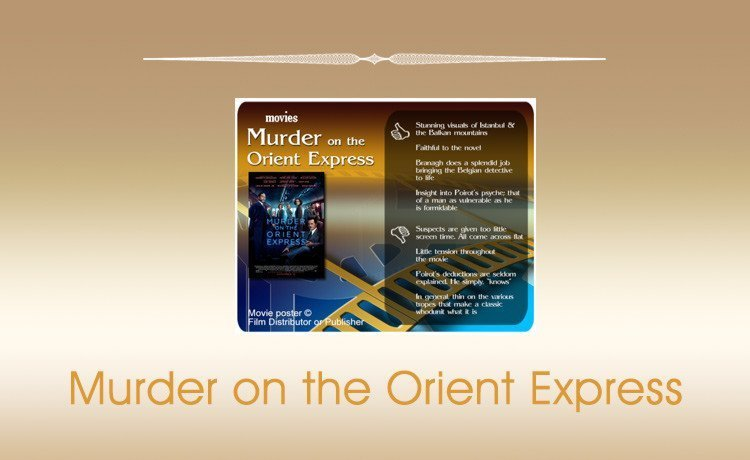 Murder on the Orient Express (2017 Film) Review