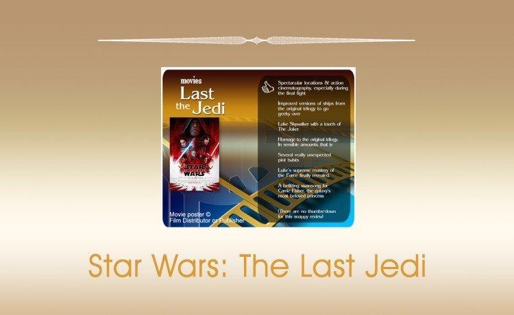 Star Wars: The Last Jedi Movie Review.