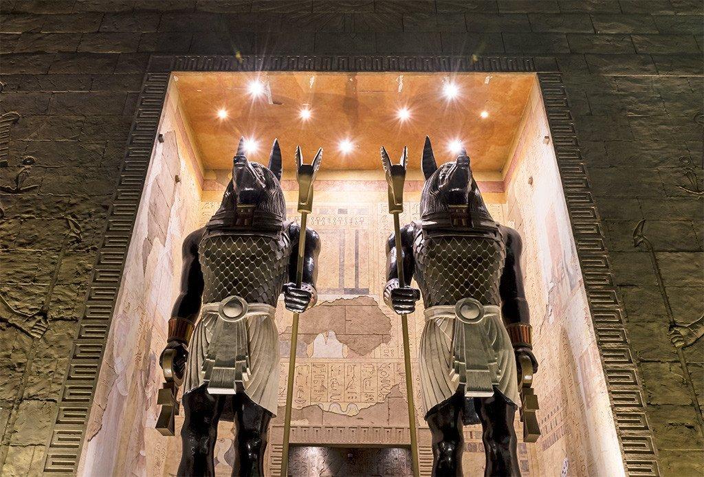 Universal Studios Singapore Mummy Zone