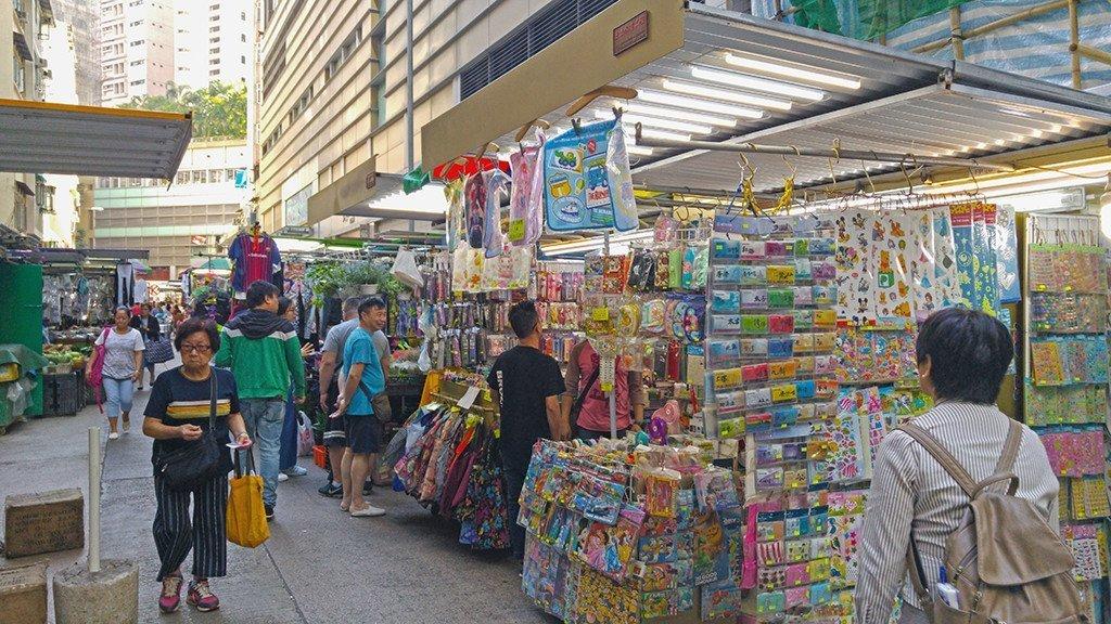 Cross Street, Hong Kong